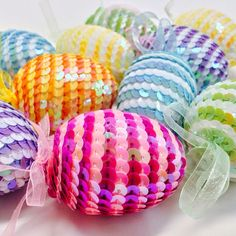 styrofoam eggs decorating ideas - Google 検索