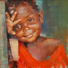 Kathy Wochele's focus on art got serious when she started painting with famed portrait artist Marc Chatov in Atlanta. Black Art Painting, Black Artwork, Acrylic Portrait Painting, African American Artwork, Arte Black, African Art Paintings, Black Art Pictures, Black Love Art, Art Africain