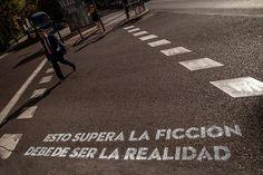 Queremos ayudar a evitar que borren los versos pintados en los pasos de peatones de Madrid. Queremos una mejor salida para el arte callejero. ¿Te apuntas?