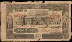 Bank of Bombay History Of Pakistan, Coin Auctions, Prefixes, Indian Fabric, Old Coins, Money Matters, World History, Embedded Image Permalink, Postage Stamps