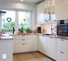 Kuchnia w stylu skandynawskim. - zdjęcie od Kwadraton kitchen design | white kitchen | scandinavian design | style | home