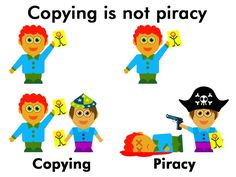 Funny pictures about The difference between copying and piracy. Oh, and cool pics about The difference between copying and piracy. Also, The difference between copying and piracy. You Funny, Funny Kids, Hilarious, Funny Things, Funny Stuff, Funny Images, Funny Photos, Aliens, Brother Memes