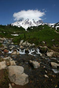 Washington State Tourism | Washington State, Mt. Rainier, Edith Creek, Travel Photo Contest