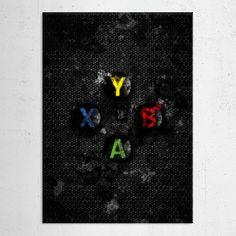gaming gamer xbox splatter painting Gaming