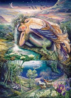 Mer Angel - 1000pc Collector's Tin Jigsaw Puzzle by Masterpieces
