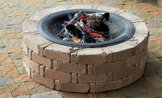 Creative And Inexpensive Useful Ideas: Easy Fire Pit Decor fire pit cover layout. Fire Pit Bench, Fire Pit Wall, Fire Pit Decor, Fire Pit Ring, Fire Pit Seating, Fire Pit Backyard, Backyard House, Backyard Ideas, Large Fire Pit
