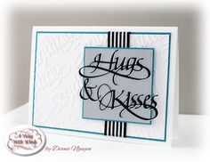 Sending Hugs & Kisses | Elizabeth Craft Designs