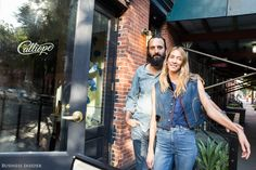 This entrepreneurial power couple runs 4 businesses together out of their West Village home  here's their best advice for making it work