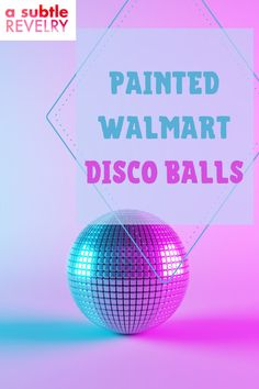 Sharing you some cool ideas for the painted Walmart disco balls. Did you know that you can grab Walmart disco balls for $10! Yes! That's right! They are also the perfect size for hanging in windows and catching the pretty afternoon sun. This pin will give you ideas on how you can decorate and paint your Walmart disco balls. Check this out! #discoballs #walmart #decoration Bright Paint Colors, Diy Party Hats, Funky Hats, Balloon Backdrop, Unique Wallpaper, Colourful Balloons, It Goes On, Lets Celebrate, Dance The Night Away
