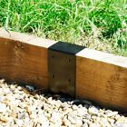7 x 3 Timber Railway Sleeper Planter Bracket Heavy Duty Raised Bed 2 Tier Raised Beds Sleepers, Railway Sleepers Garden, Raised Garden Beds, Path Edging, Edging Plants, Contemporary Fence Panels, Plastic Lawn Edging, Timber Pergola
