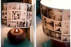 Die alte Omas werden so froh sein, wenn sie solch ein Geschenk bekommen - Foto Lampenschild