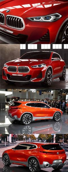 Paris Motor Show 2016: BMW X2 SUV Concept Unwrapped