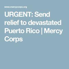 URGENT: Send relief to devastated Puerto Rico | Mercy Corps