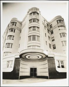 888 Grand Concourse, Bronx, NY by Wurts Bros.,... Art Deco