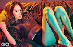 Wonder Girls' Yenny takes on an eclectic and sexy concept for 'GQ' | allkpop.com