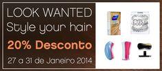 SKIN - Style Your Hair 20% Desconto em todos os artigos de styling