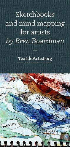 Bren Boardman: Sketchbooks and mind mapping for artists