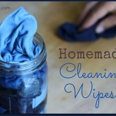 Homemade disinfecting wipes ¾ cup filtered water (find water purification systems here) ¾ cup white distilled vinegar 15 drops lemon essential oil (find 100% pure essen...