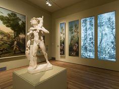 Imagen exposición en sala. GOYA EN MADRID 28 nov 2014—3 may 2015 en el Museo Nacional del Prado de Madrid, Spain