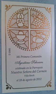 Estampa Comunion Communion, Frame, Ideas, Baptism Cards, Patterns, Pergamino, First Holy Communion, Picture Frame, Frames