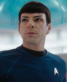 Zachary Quinto as Spock ~ Star Trek Star Trek Spock, Star Wars, Star Trek Tos, Star Trek 2009, Radios, Spock Zachary Quinto, Star Trek Reboot, Starfleet Academy, Star Trek Images