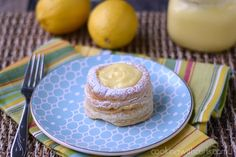 Lemon Curd Tarts | cookingwithcurls.com | #recipe