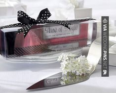 "Neato! - ""Slice of Style"" Stainless Steel High Heel Cake Server Sale Price: $2.47 (15% off)   No bridal shower favor or girls' night out gift tells it like it is more than the ""Slice of Style"" Stainless-Steel High Heel Cake Server. This fashionable favor is practical, and the packaging is priceless! 