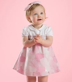 Love is in the air thanks to Dave Bella's heart dress #minifashionista #girlsclothes #kidstyle
