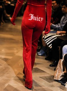 See vetements' take on Juicy Couture, Manolo Blahnik & other SATC-approved labels.