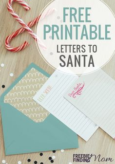 Pick from 4 adorable FREE Santa letter templates! These Santa list templates are cute for kids & make pretty stationary to use at home. Free Santa Letter Template, Free Printable Santa Letters, Free Letters From Santa, Letter Templates, Free Printables, Freebies By Mail, Santa List, Diy Gifts For Friends, Christmas Items