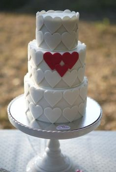 Tartas de boda: Fotos de los mejores diseños en fondant
