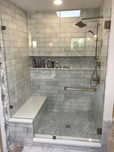 Small Shower Remodel, Diy Bathroom Remodel, Bathroom Renovations, Restroom Remodel, Bath Remodel, Decorating Bathrooms, Bathroom Makeovers, Mold In Bathroom, Simple Bathroom