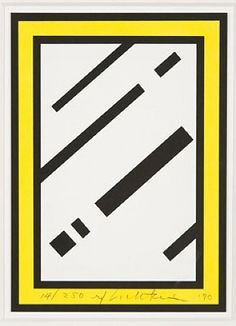 Roy Lichtenstein, 'Mirror'