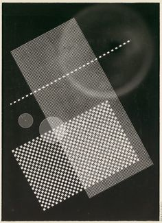 [Photogram: Screen, Circular Forms]  Rolf Cavael (German, 1898–1979)  Date: 1931