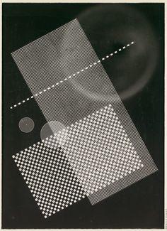 [Photogram: Screen, Circular Forms]  Rolf Cavael (German, 1898–1979)  Date: 1931