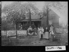Holloway Family in Sumter Georgia. 1870-1899