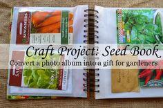 DIY Seed Book Gift F