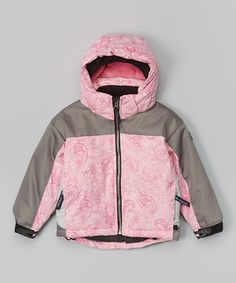 Look what I found on #zulily! Pink Paisley Summit Jacket - Infant, Toddler & Girls by Molehill Mt. Equipment #zulilyfinds