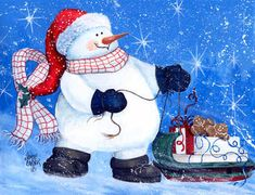 """*SNOWMAN """"My Friends Can Ride Too"""""""