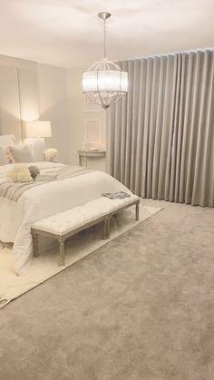 Modern Luxury Bedroom, Master Bedroom Interior, Luxury Bedroom Design, Room Design Bedroom, Bedroom Furniture Design, Room Ideas Bedroom, Home Room Design, Luxurious Bedrooms, Bedroom Decor