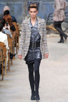 Chanel Fall 2013 Couture Fashion Show - Nadja Bender (OUI)