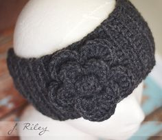 Crochet Ear Warmer Inspirational image