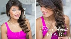 Two Strand Braid Hairstyle
