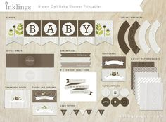 24 Scratch Off Cards for a Baby Shower Birthday by InklingsPaperie