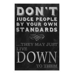 Humorous Wise Words, Don't Judge People