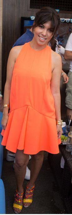 Kourtney Kardashian: Dress – Cameo  Shoes – ...