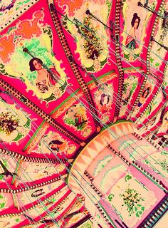 Carnival Colors by Pink Sherbet Photography, via Flickr