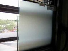 Smart Glass: This technology makes glass fog when affected by electricity or heat very fast. Check it out!