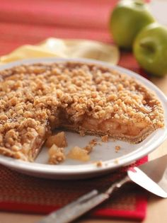 Dutch Apple Pie | KitchenDaily.com