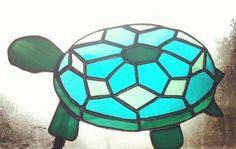 Copper foil turtle